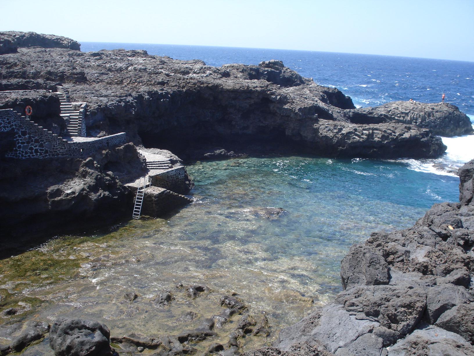 Foto playa Charco Manso. El Charco Manso