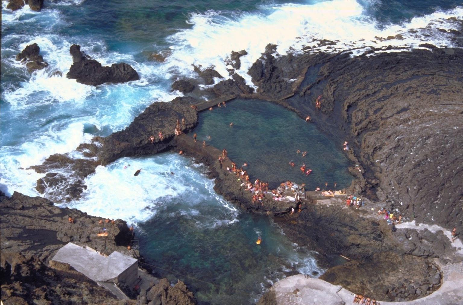 Foto playa Pozo de las Calcosas. El Hierro. Las Calcosas