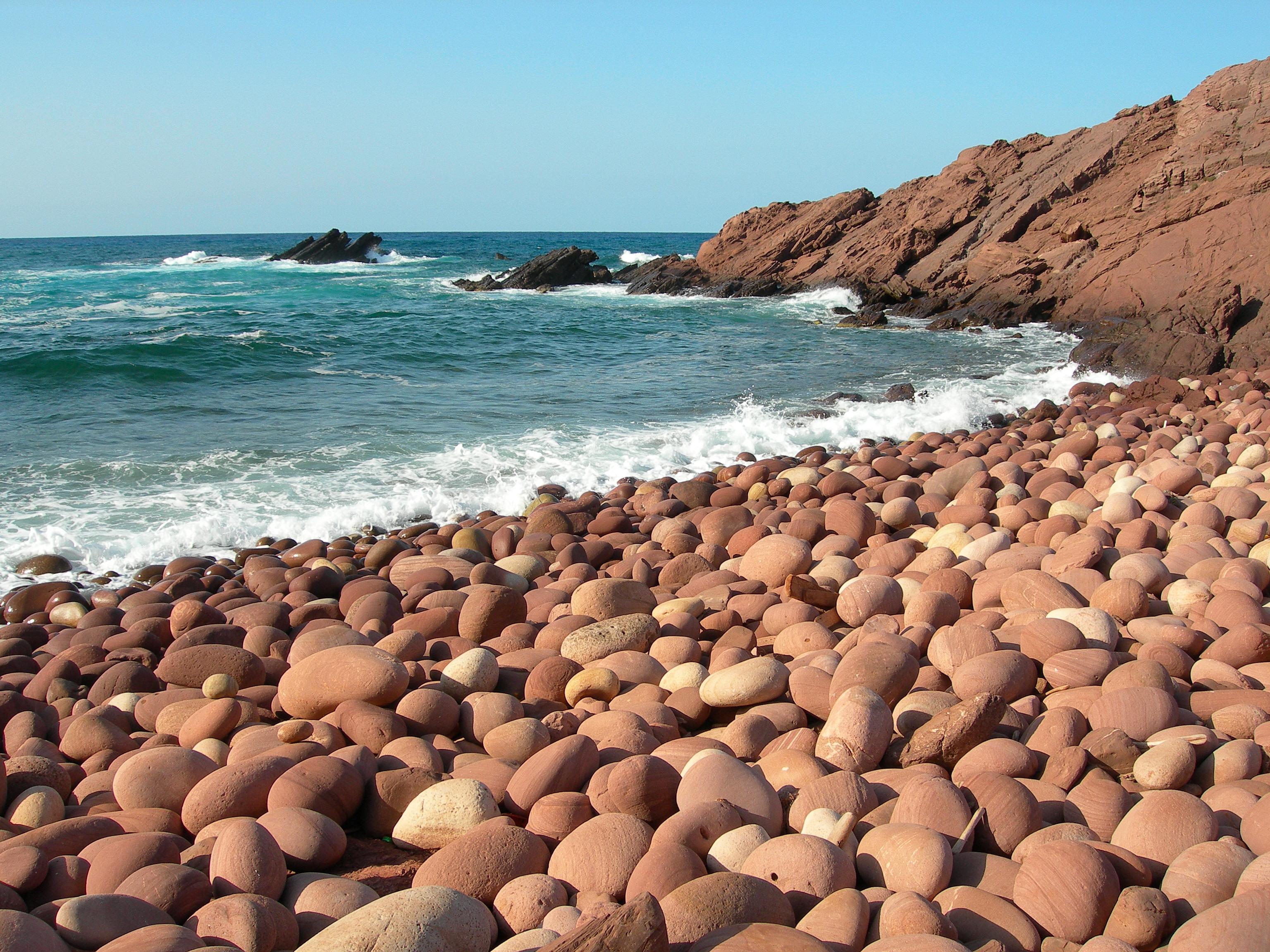 Foto playa Cala del Pilar. Macar d´Alfurinet, cerca de Cala Pilar. Costa Norte de Menorca