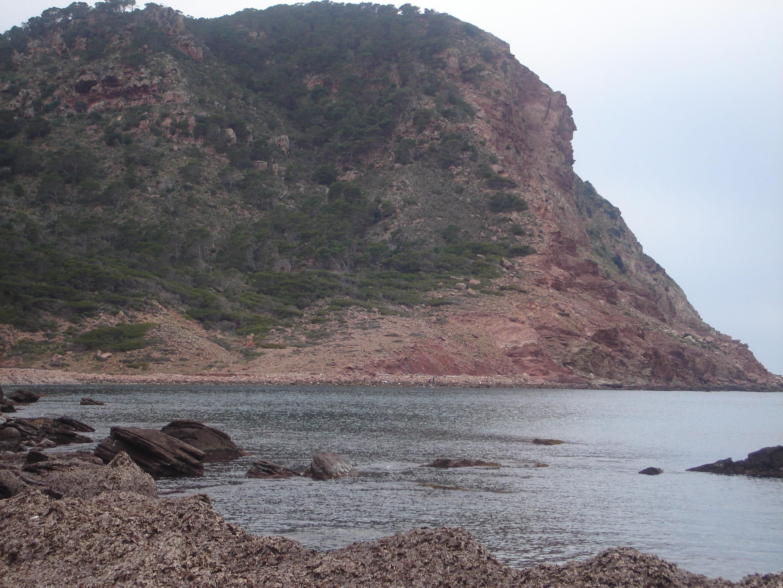 Foto playa Cala del Pilar. penyal