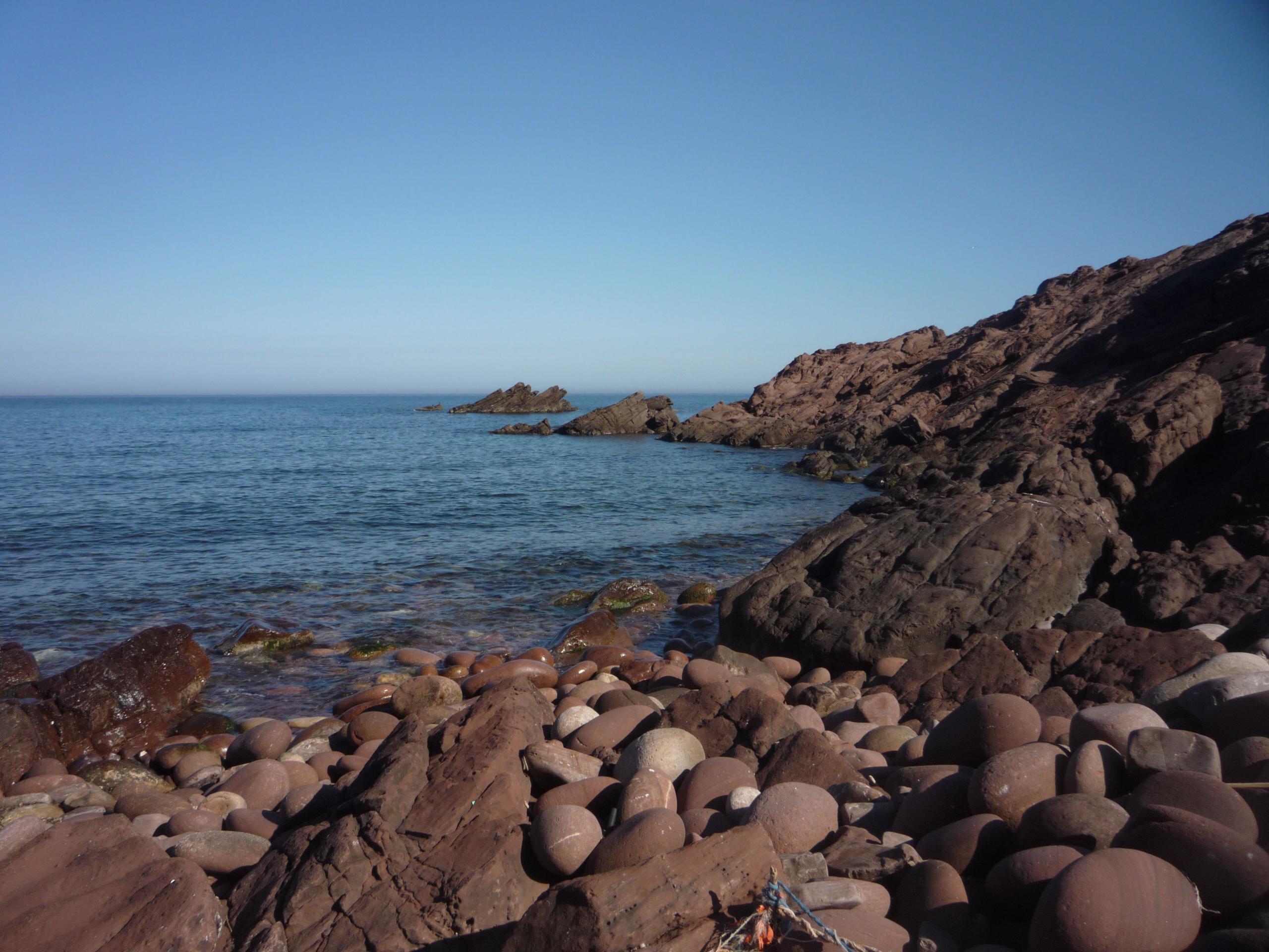 Foto playa Cala del Pilar. Punta d´es Carregador