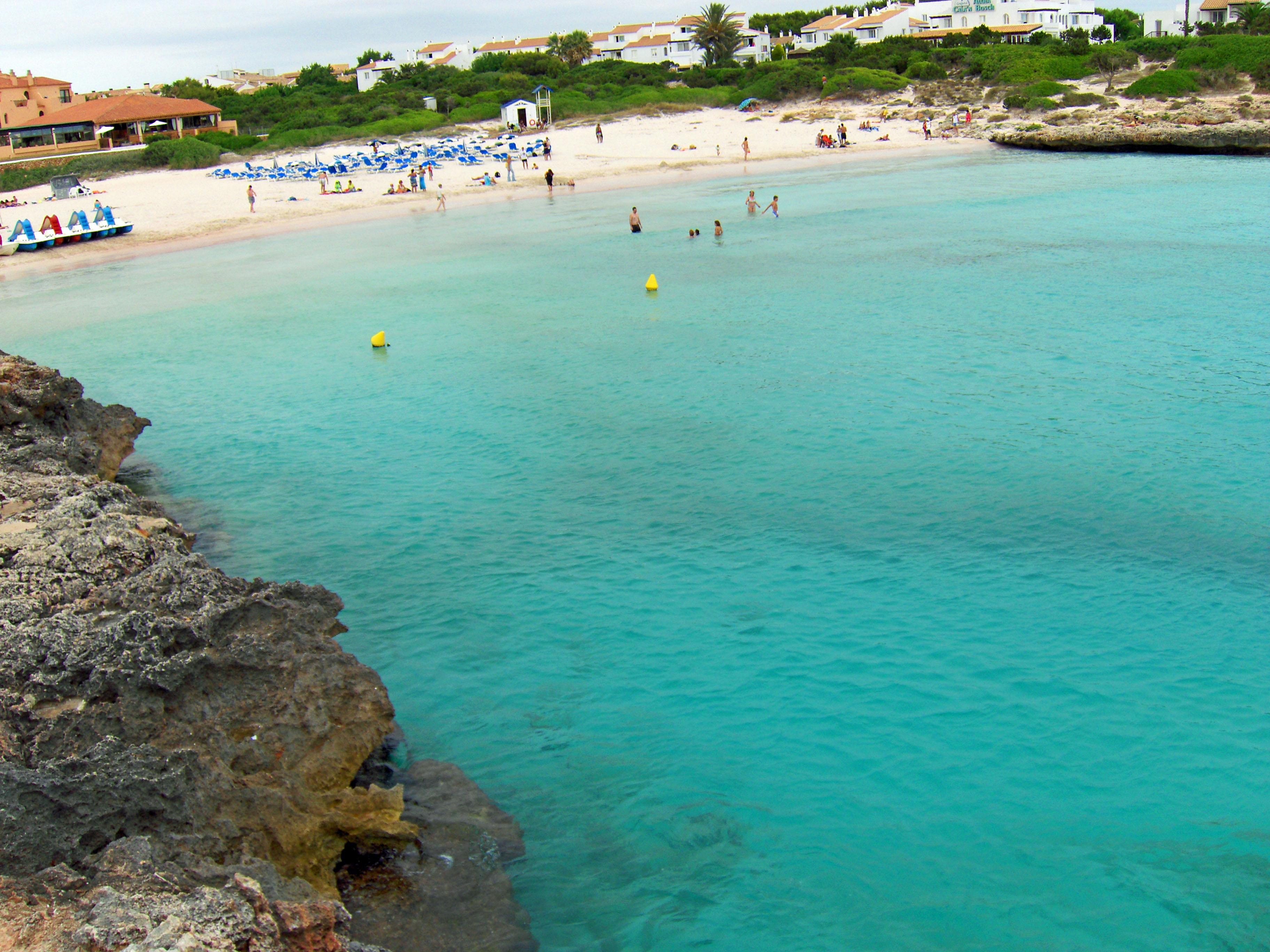 Foto playa Cala Santandria.