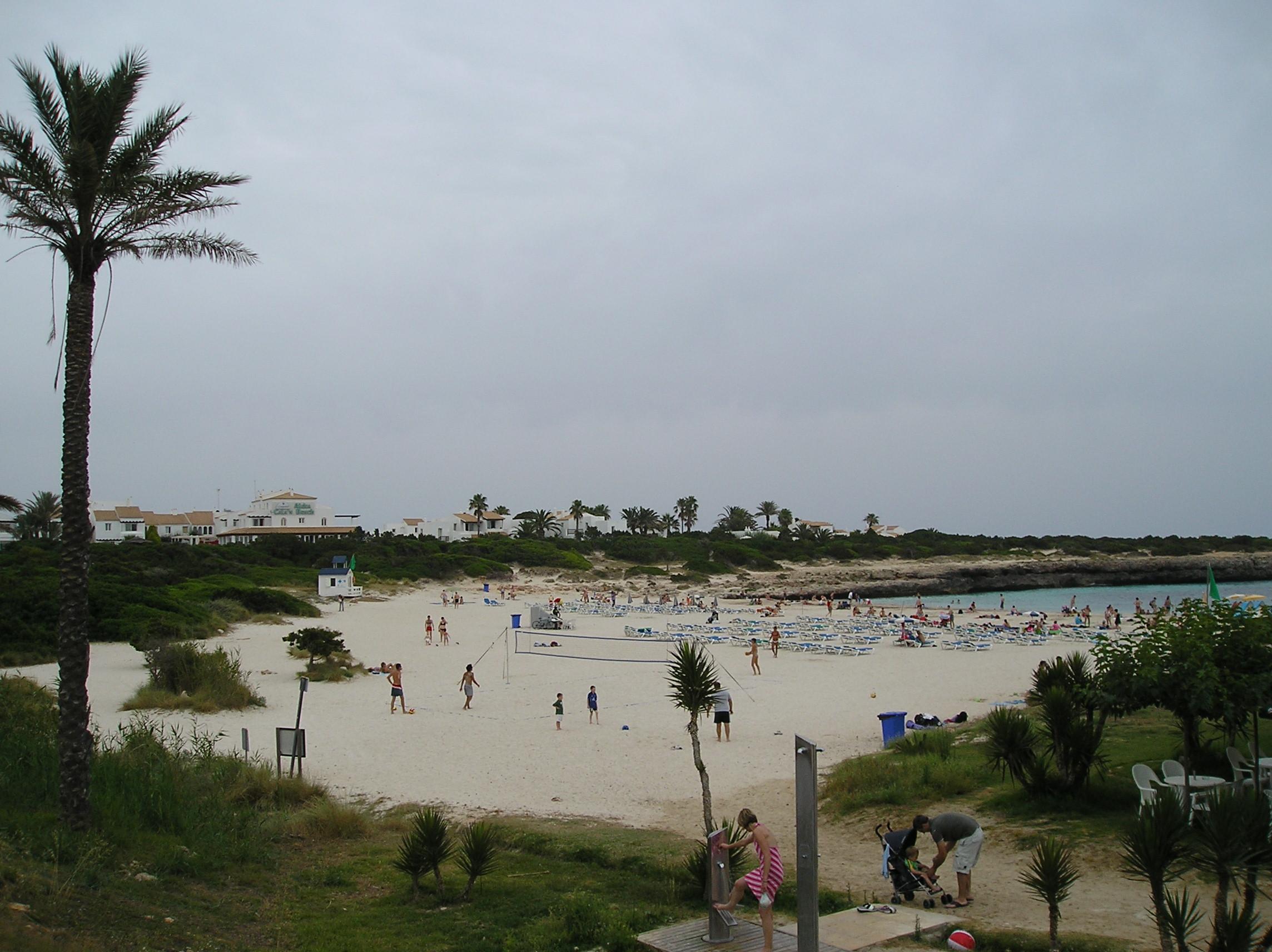 Foto playa Son Xoriguer. Calan Bosch playa