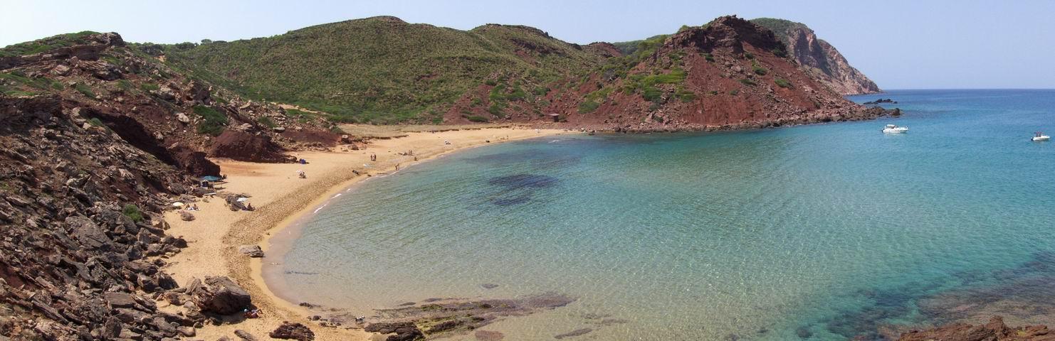Foto playa Es Alocs. Cala Pilar
