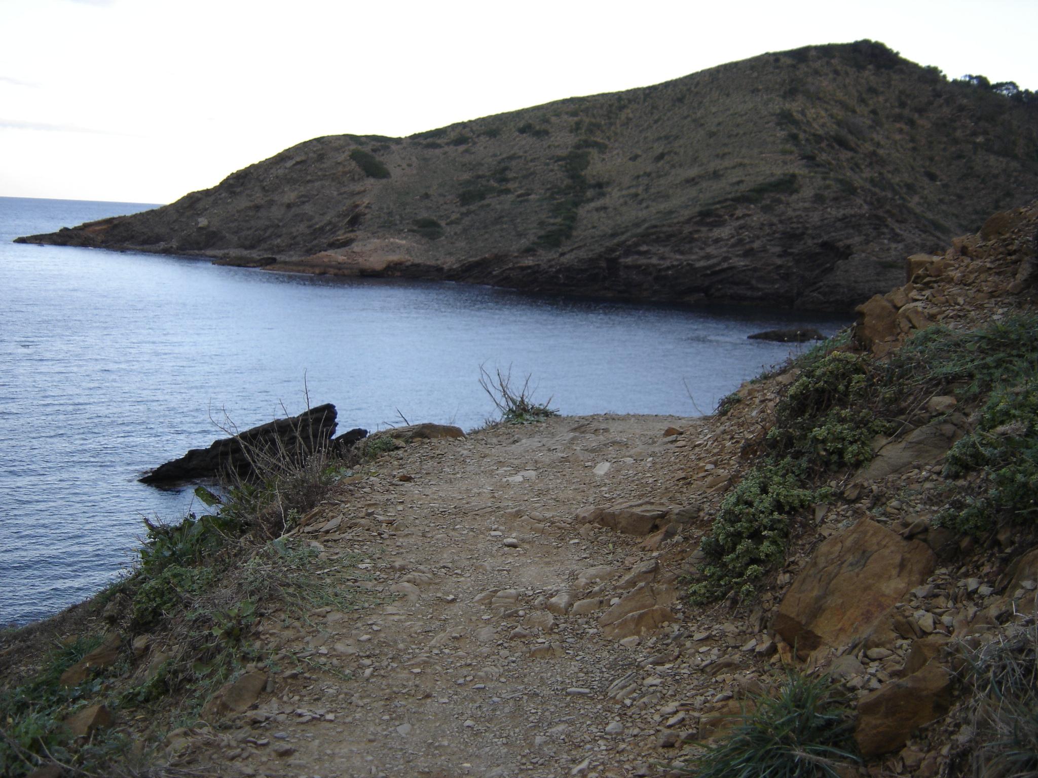 Foto playa Es Alocs. Camí dets Alocs a Cala Pilar