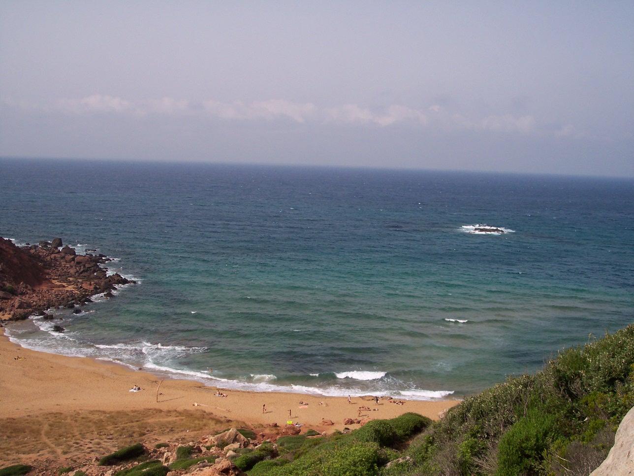 Foto playa Es Alocs. LA CALA DEL PILAR