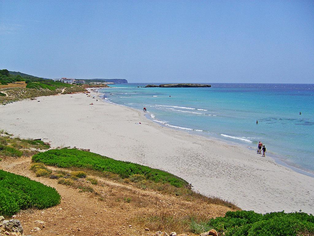 Foto playa Sant Adeodato. Playa Binigaus - Menorca