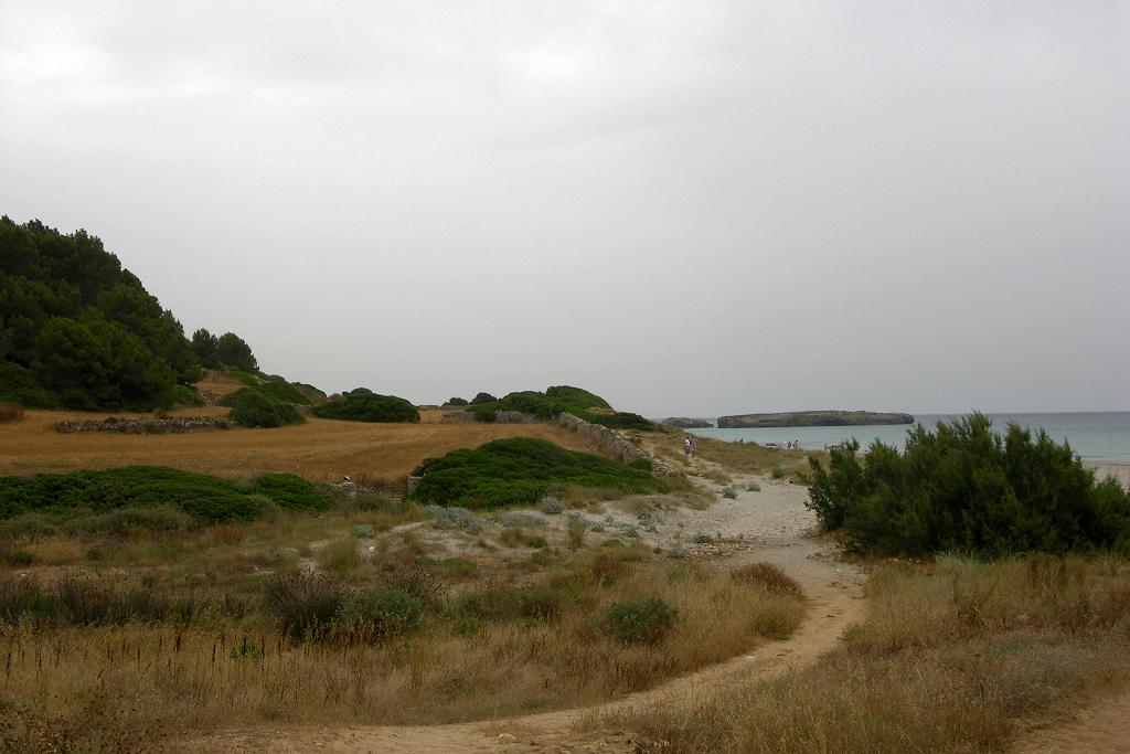 Foto playa Sant Adeodato. Playa Binigus, Menorca
