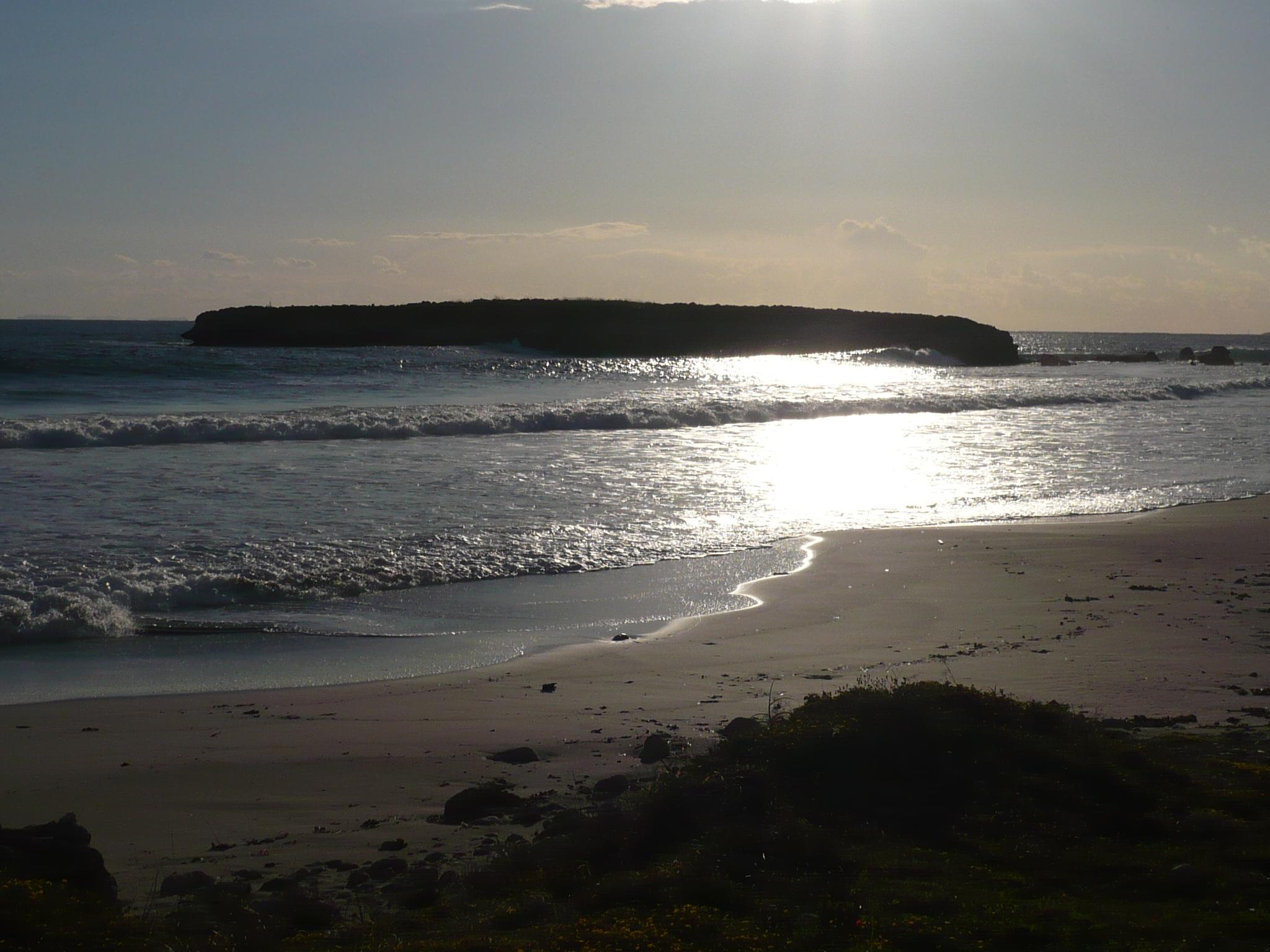 Foto playa Sant Adeodato. s´illot de st tomàs