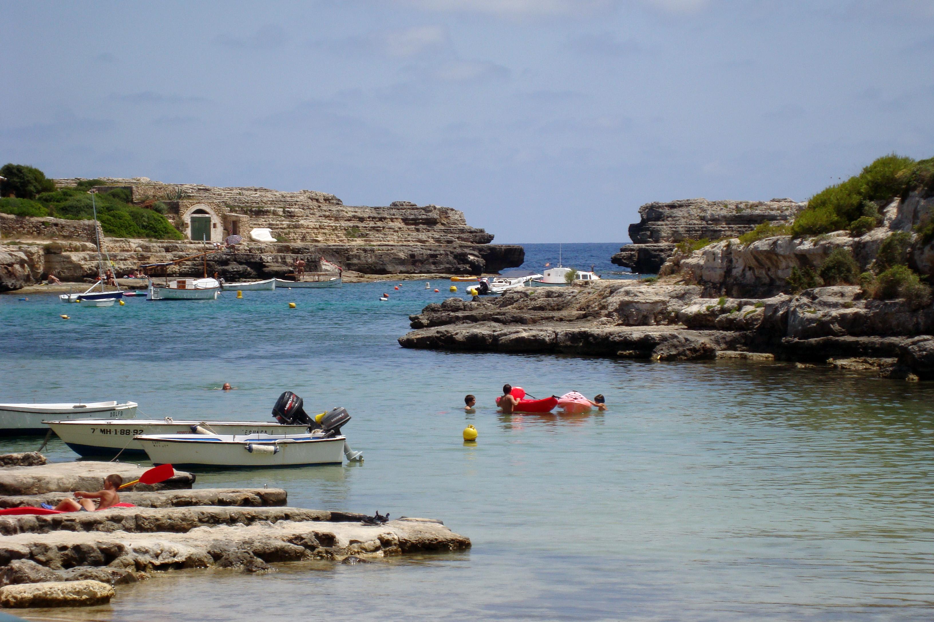 Foto playa Cala Alcaufar. Cala d´Alcaufar