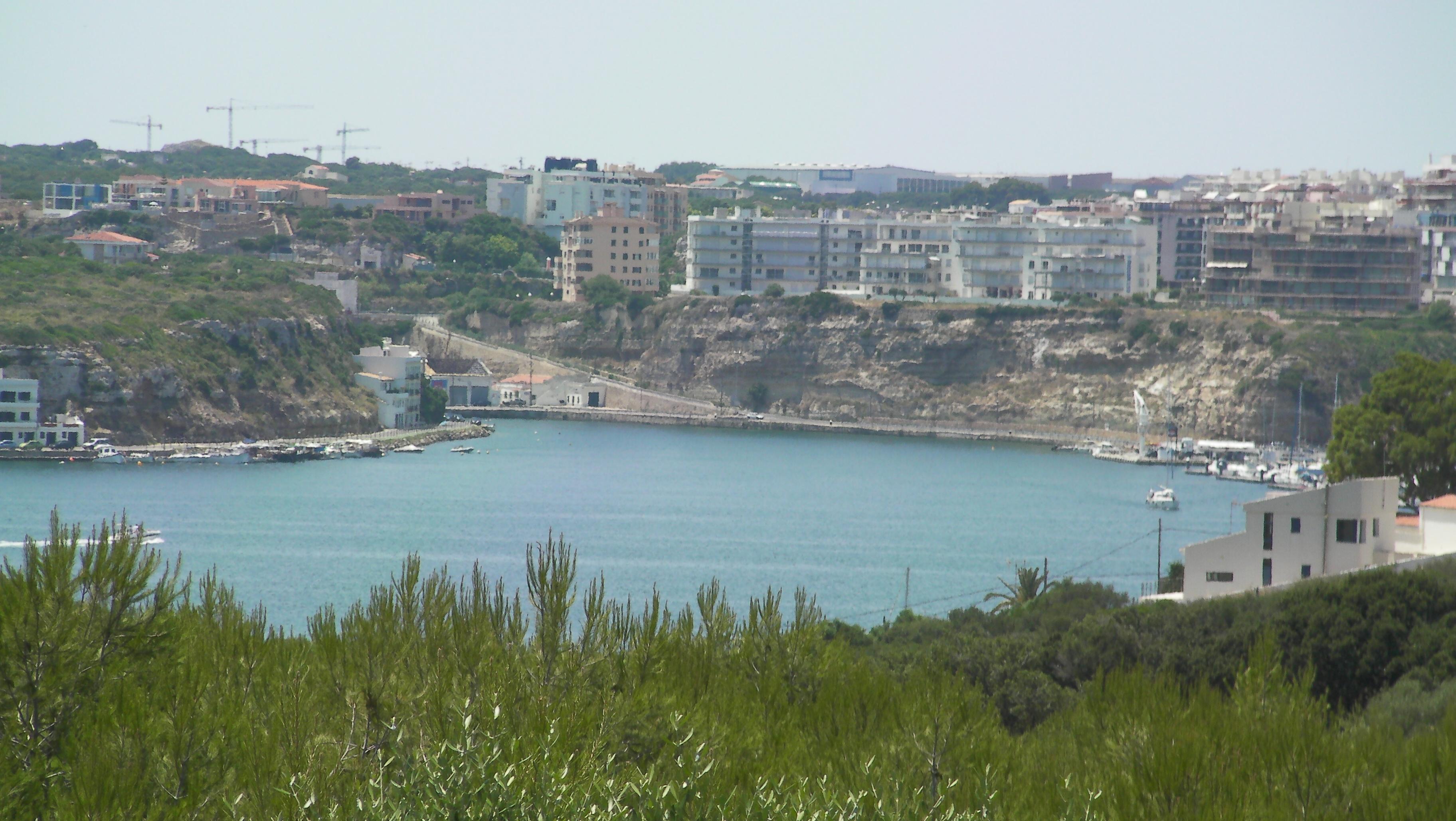 Foto playa Cala es Murtar. Cala Figuera al fondo