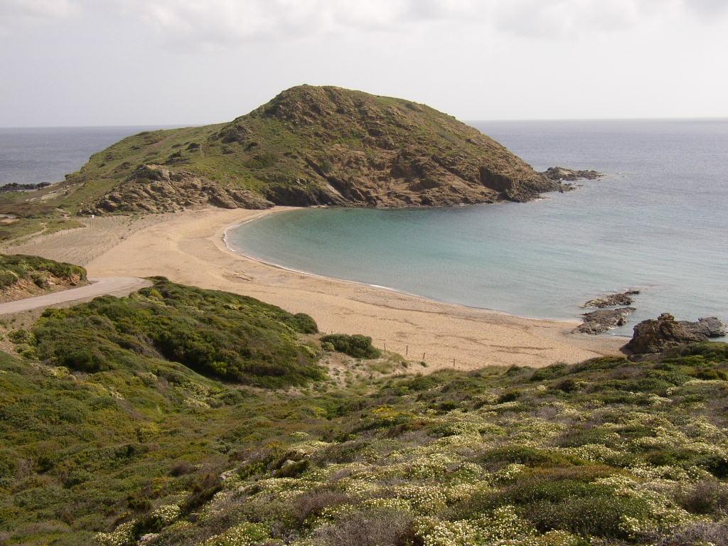 Foto playa Cala Mesquida. MENORCA. SA MESQUIDA