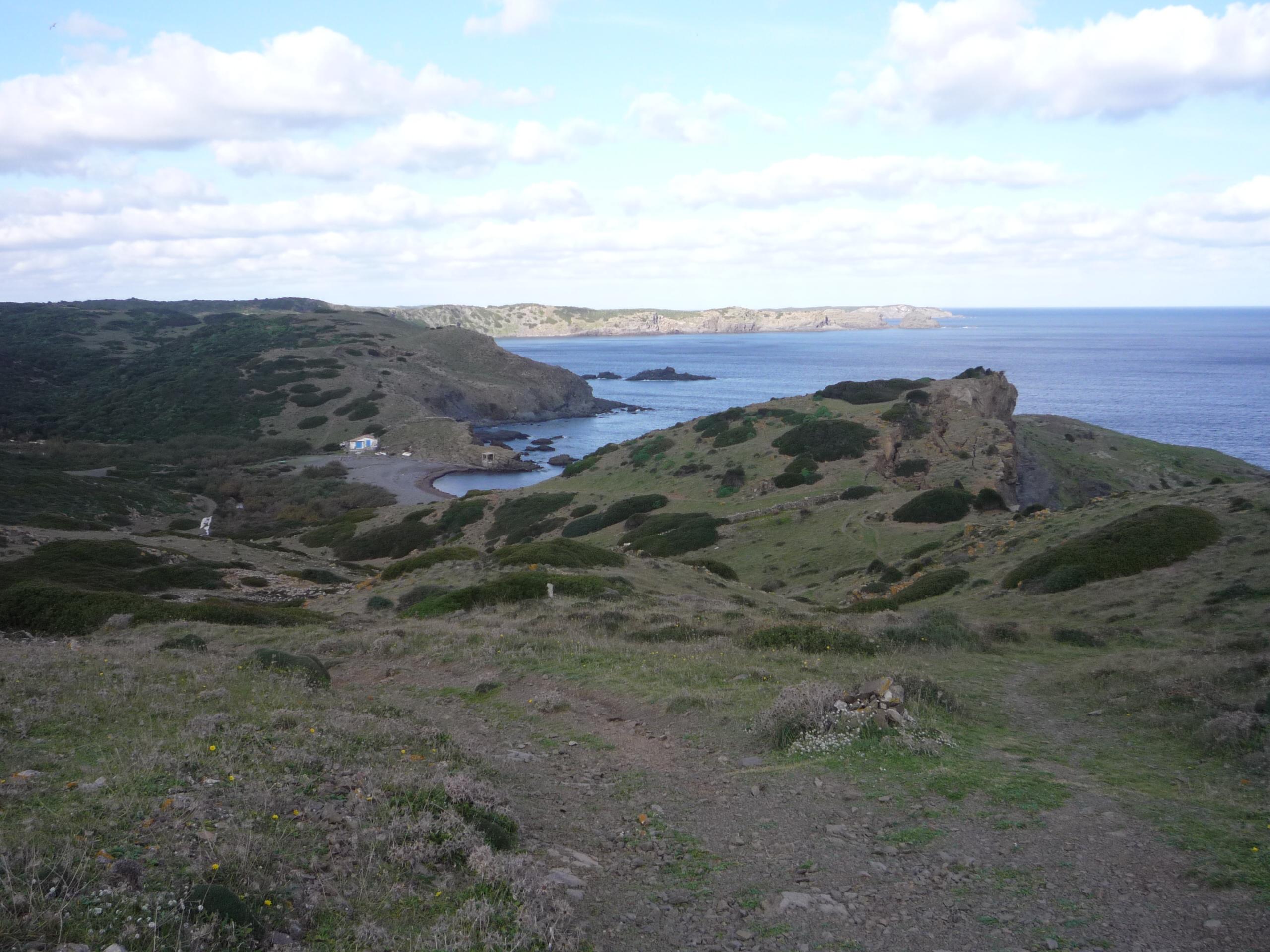 Foto playa Cala Macar de Binillautí. Macar de Binillautí