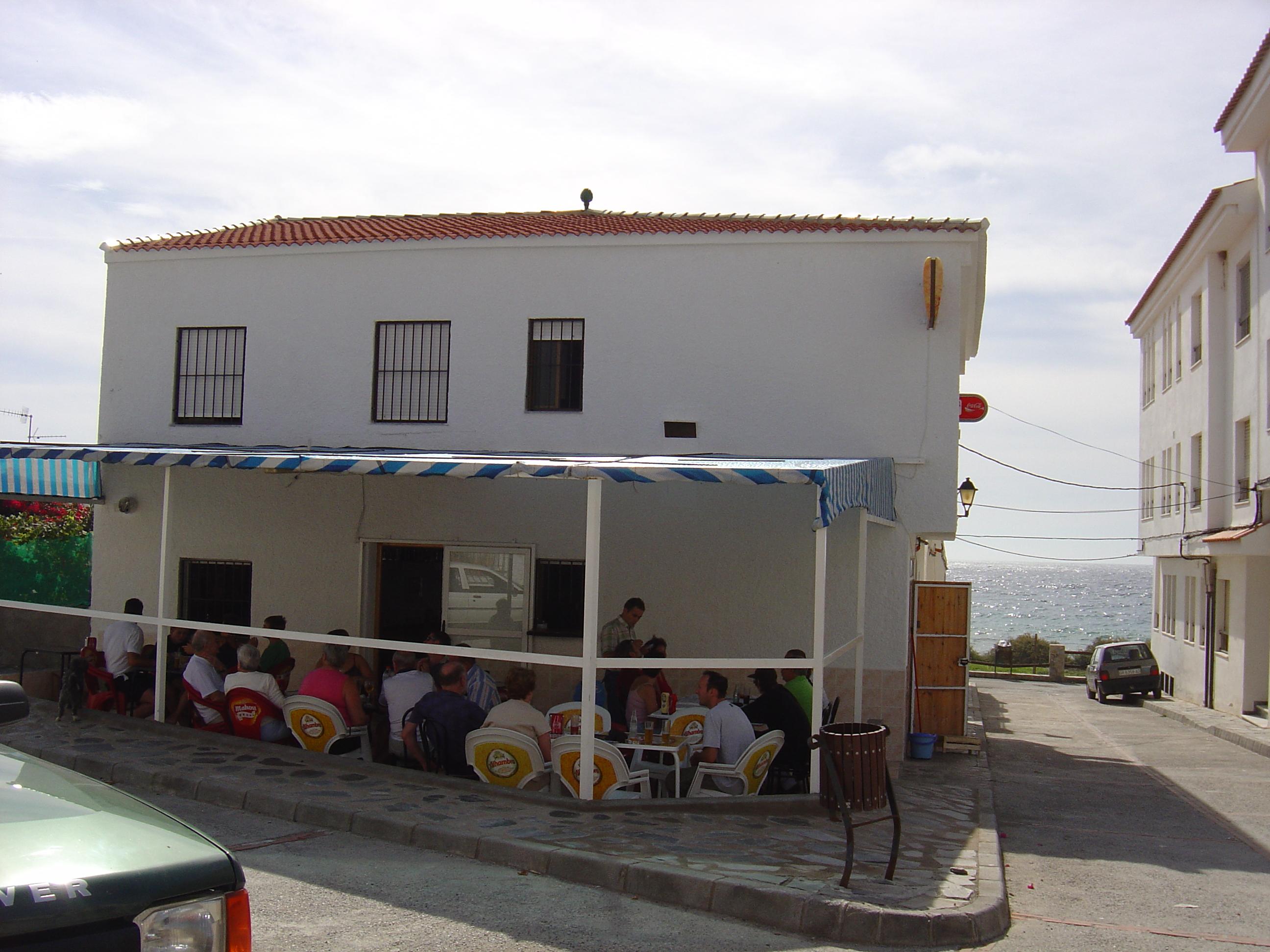 Foto playa Castillo de Baños. Bar Nico Casarones