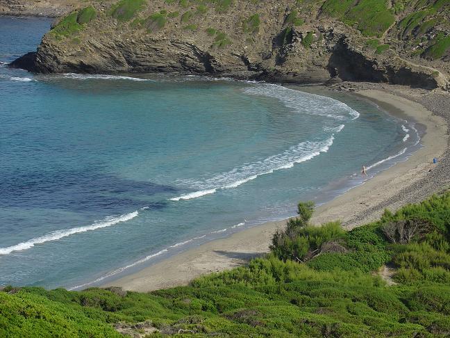 Foto playa Cala Morella Nou. La recóndita y virgen Cala Tortuga