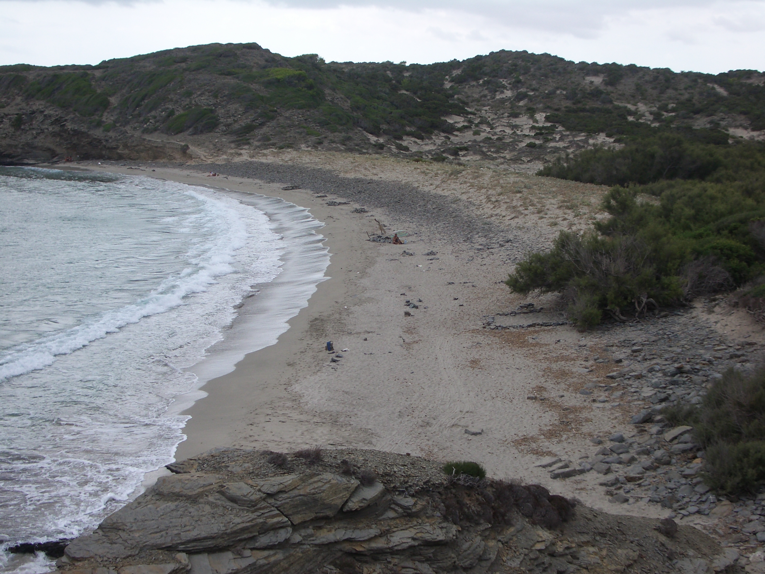 Foto playa Cala Morella Nou. Platja Tortuga Aug 2006