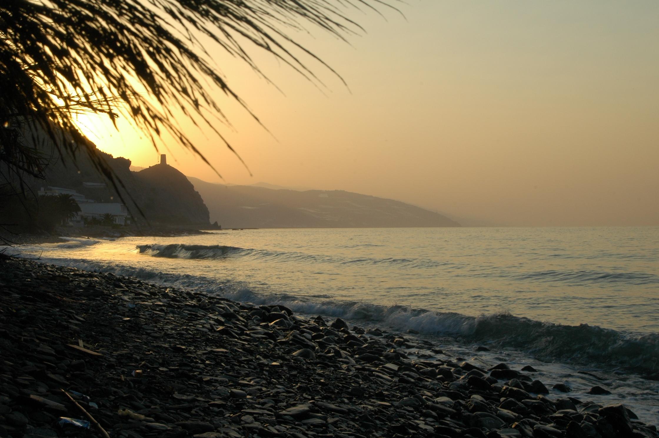 Foto playa Castillo de Baños. Castillo de Baños