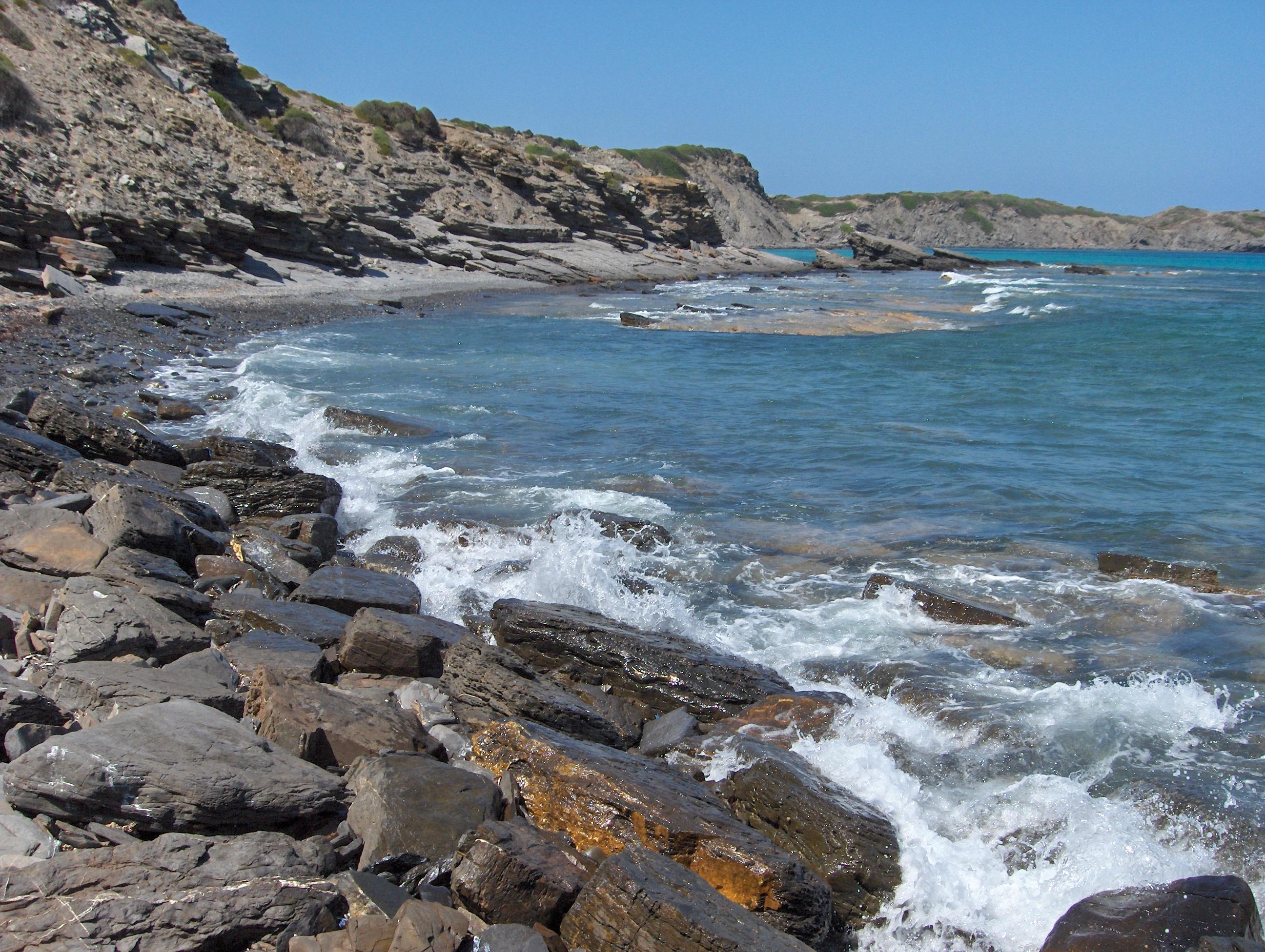 Foto playa Capifort. Entre Presili y Cala Tortuga