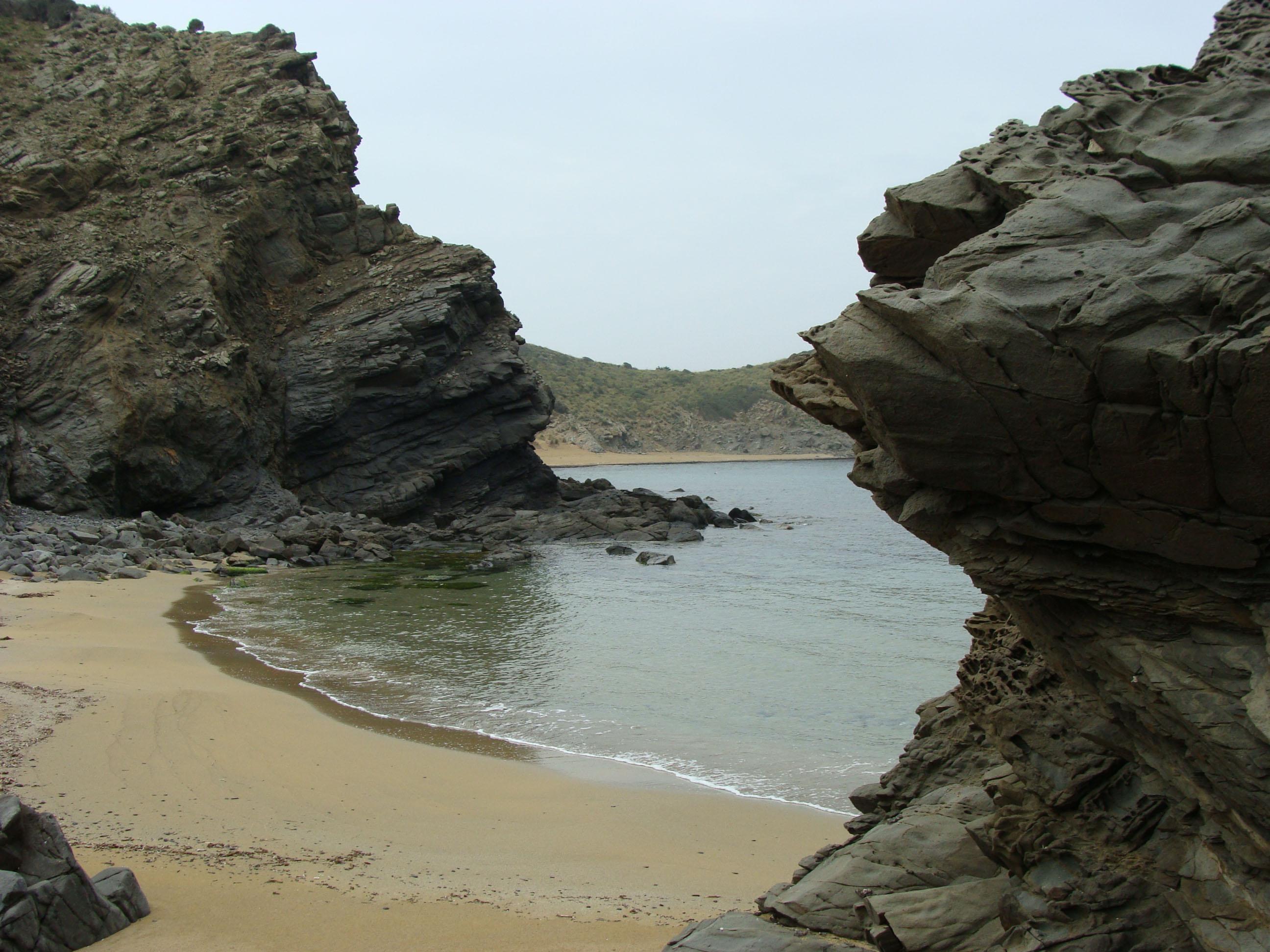 Foto playa Cala Caldés. S´Arenalet (S´Enclusa)