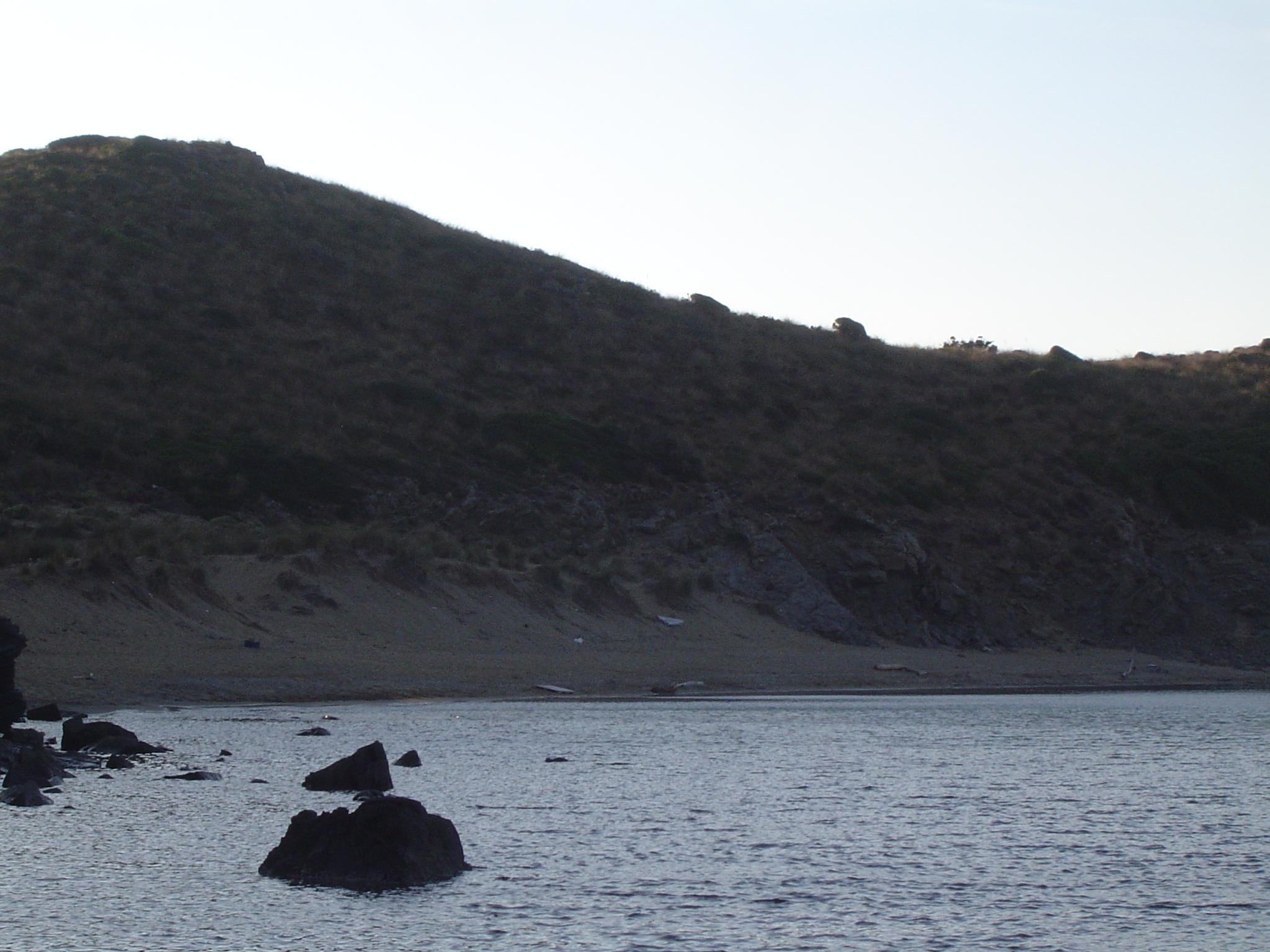Foto playa Cala Caldés. Cala Enclusa