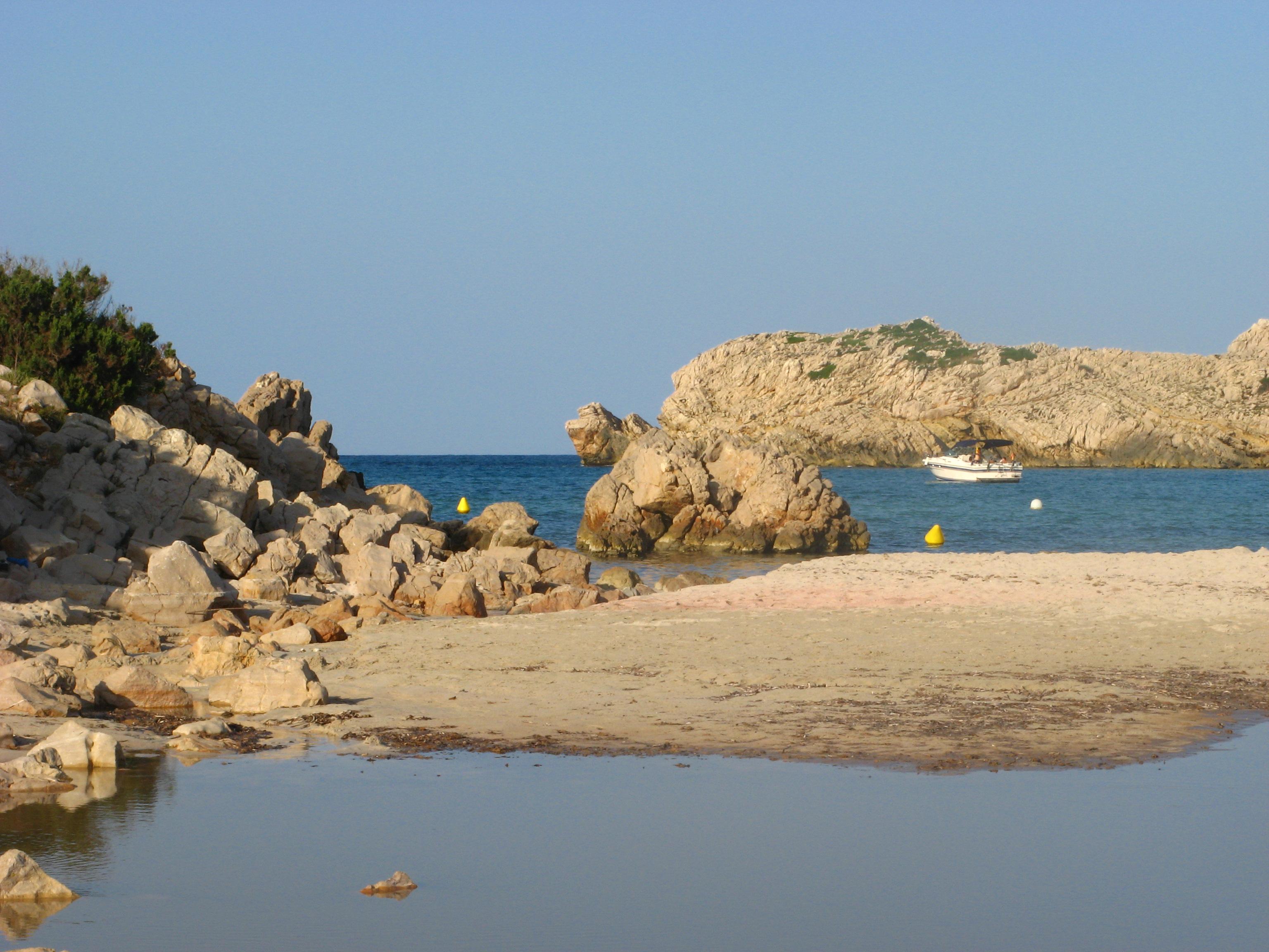 Foto playa Cala Pudent. Arenal de Son Saura - Son Parc