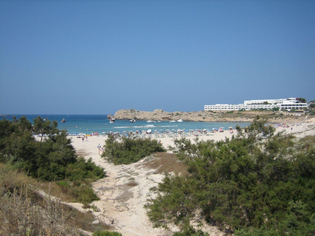 Foto playa Cala Pudent. Son Park