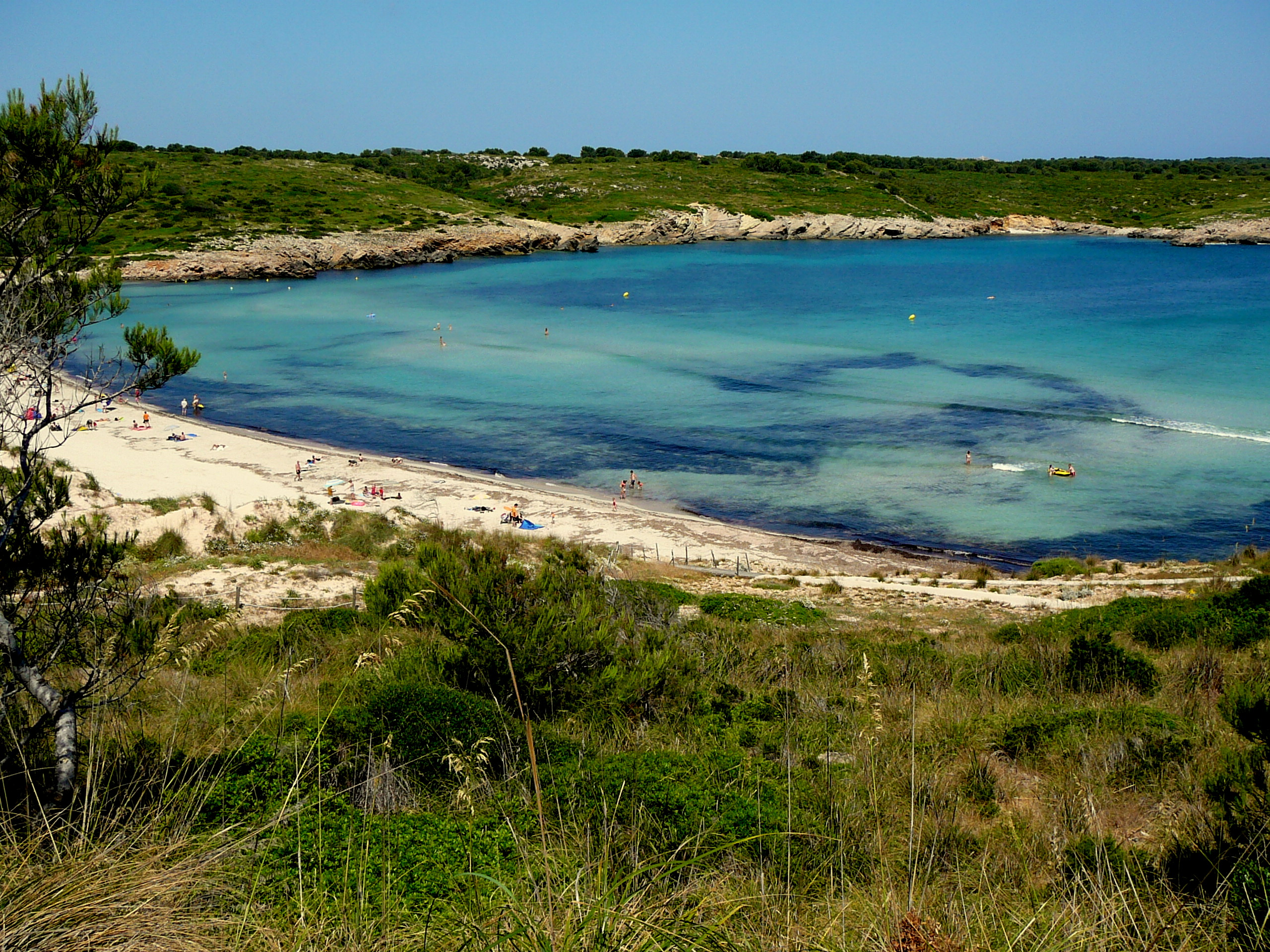 Foto playa Cala Pudent. Son Parc