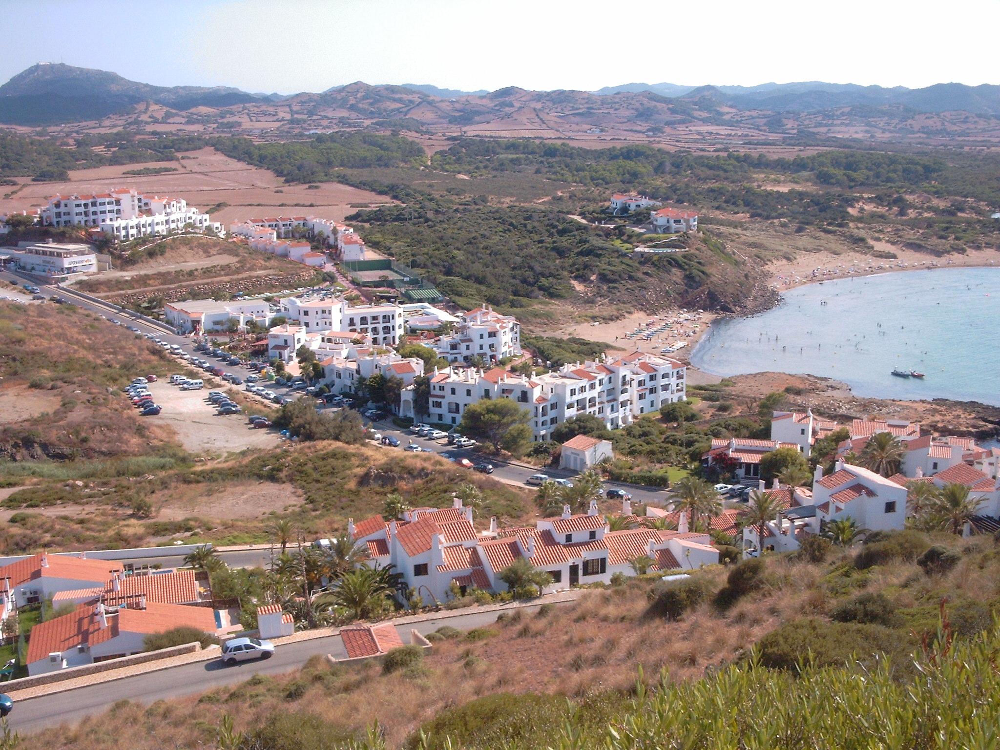 Foto playa Platja Gran. una vista hermosa desde arriba