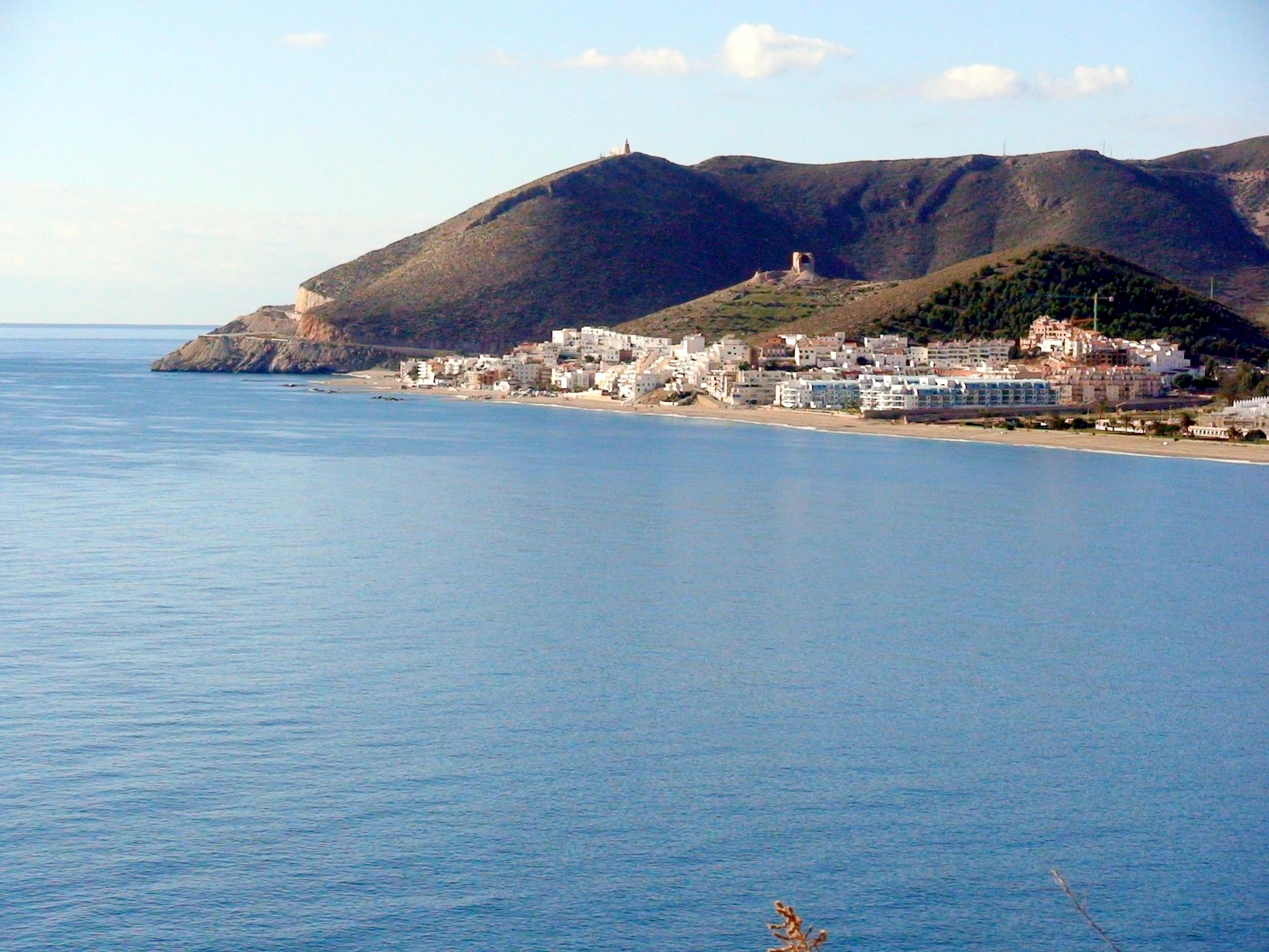 Foto playa El Lance. Castell de Ferro