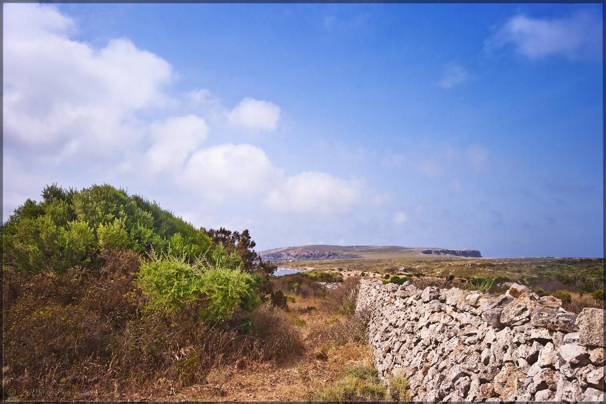 Foto playa Es Macar Petit. Menorca, Spain