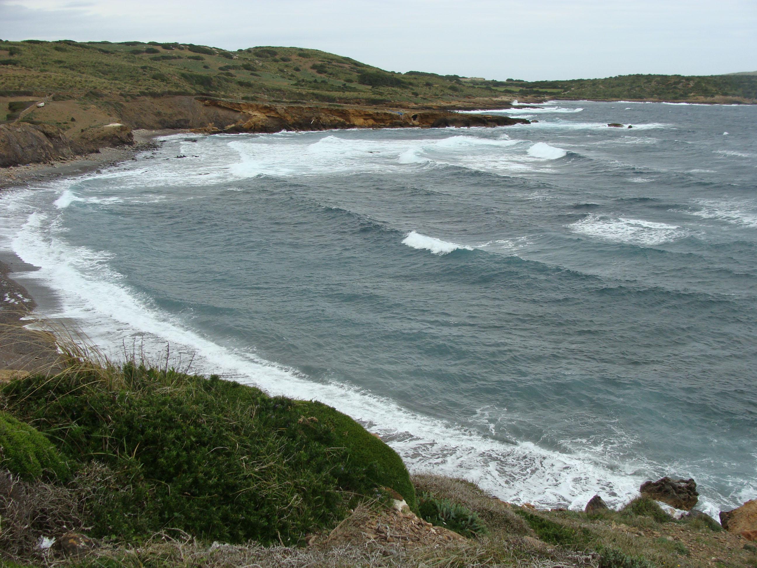 Foto playa Es Macar Petit. Macar Gran