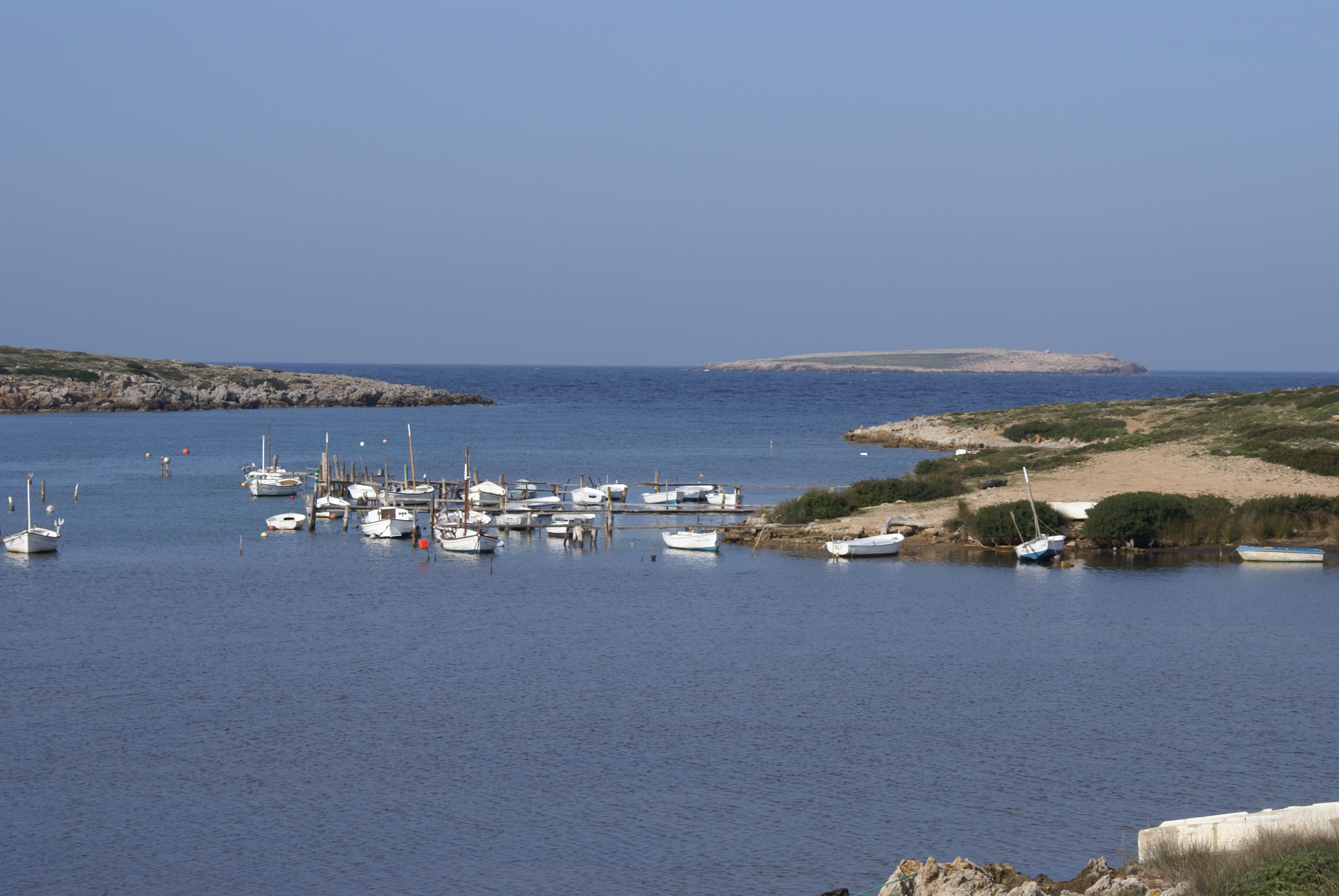 Foto playa Es Macar Gran. s´almadraba(vista general)