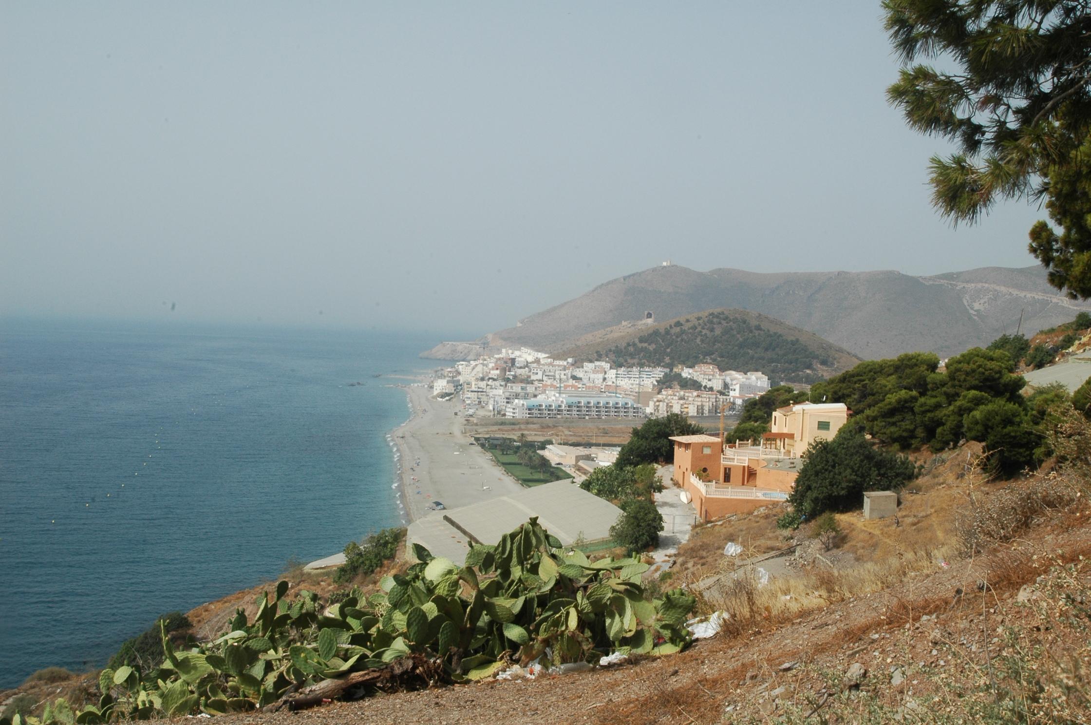 Foto playa El Lance. Playa de Castell de Ferro